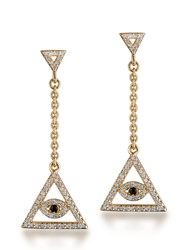 Jade Jagger Spirit Earrings Gold