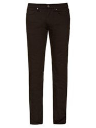Acne Studios Max Stay Cash Slim Leg Jeans Black
