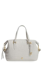 Brahmin Southcoast Delaney Croc Embossed Leather Tote
