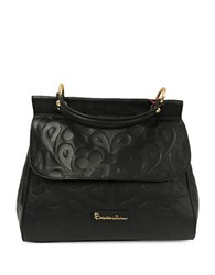 Braccialini Isabella Leather Shopper Black