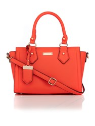 Juno Orange Cross Body Tote Bag Orange