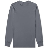 Rick Owens Drkshdw Long Sleeve Level Tee Grey