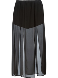 Michael Michael Kors Front Slits Long Skirt