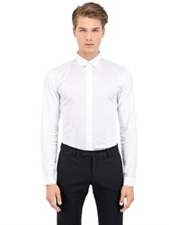 Christian Dior Cotton Poplin Button Down Shirt