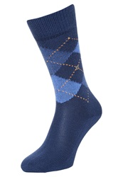 Burlington Preston Socks Royal Blue