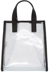Kenzo Clear Vinyl Tiger Tote