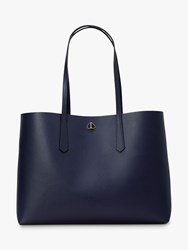 Kate Spade New York Molly Leather Large Tote Bag Blazer Blue