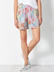 John Lewis Collection Weekend By Confetti Floral Shorts Pink Yellow