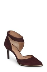 Klub Nico Women's Rimona Pump Wine Nubuck Leather