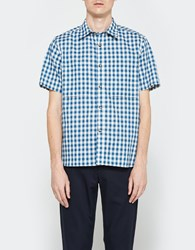 Rogue Territory Camp Shirt Light Indigo Gingham
