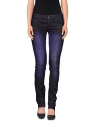 Nolita Denim Pants Dark Purple