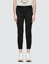 Alexander Mcqueen Lace Up Details Trousers Black