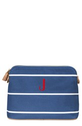 Cathy's Concepts Personalized Cosmetics Case Blue J