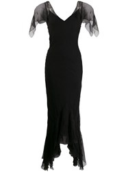 Chanel Vintage 2000 Long Gown Black