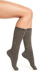 Naigai Women's Wool Blend Crew Socks