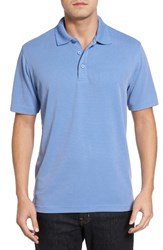 Bugatchi Men's Textured Jersey Polo Lavender