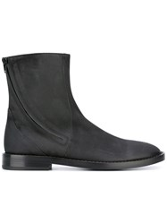 A.F.Vandevorst Slip On Ankle Boots Black