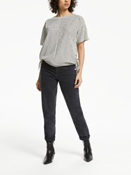 And Or Pin Up Mom Jeans Charcoal