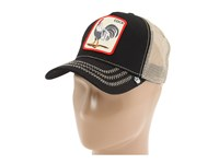 Goorin Bros. Brothers Animal Farm Snap Back Trucker Hat Black Rooster Caps