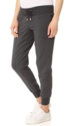 Ingrid And Isabel Active Jogger Maternity Leggings Charcoal Heather