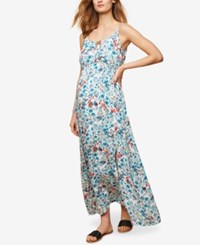 Motherhood Maternity Printed Maxi Dress White Floral