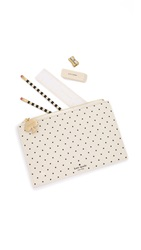 Kate Spade Pencil Me In Pouch Deco Dots