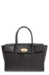 Mulberry 'Bayswater' Grained Leather Satchel