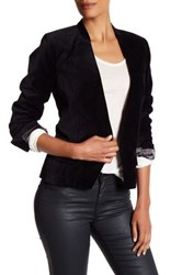Zadig And Voltaire Vegas Velours Jacket Black