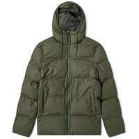 Rains Puffer Jacket Green
