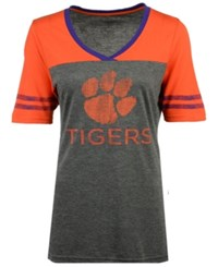 Colosseum Women's Clemson Tigers Mctwist T Shirt Charcoal