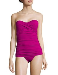 Tommy Bahama Pearl Solid One Piece Swimsuit Pink