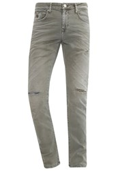 Ltb Joshua Slim Fit Jeans Dry Moss Wash Coloured Denim