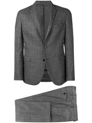 Neil Barrett Two Piece Formal Suit Grey