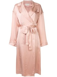 Mansur Gavriel Classic Trench Pink