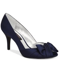 Nina Forbes Evening Pumps Women's Shoes Navy