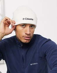 Columbia Winterview Beanie In White