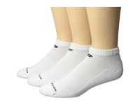 New Balance Cotton Low Cut 3 Pack White Low Cut Socks Shoes