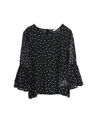 George J. Love Shirts Blouses Black