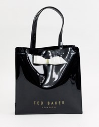 Ted Baker Almacon Bow Large Icon Bag Black