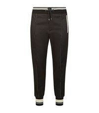 Dolce And Gabbana Side Stipe Casual Trousers Male Black