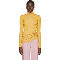 Sies Marjan Pink And Yellow Victoire Turtleneck