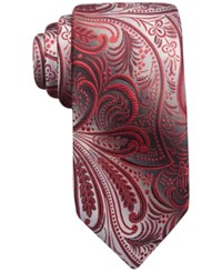 John Ashford Collins Paisley Tie Only At Macy's Red