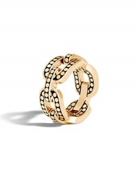 John Hardy Dot 18K Link Ring