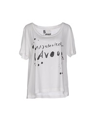 5Preview Topwear T Shirts Women White