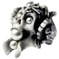 Macabre Gadgets Luceat Ring Coral