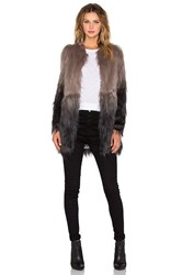 Unreal Fur Wanderlust Coat Gray