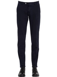 Berwich 17Cm Gabardine Stretch Cotton Trousers