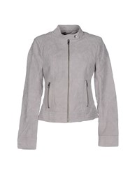 Only Coats And Jackets Jackets Women Light Grey