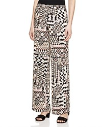 Romeo And Juliet Couture Geo Print Palazzo Pants Compare At 165 Pink Multi