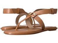 Tory Burch Gigi Flat Sandal Royal Tan Women's Sandals Brown